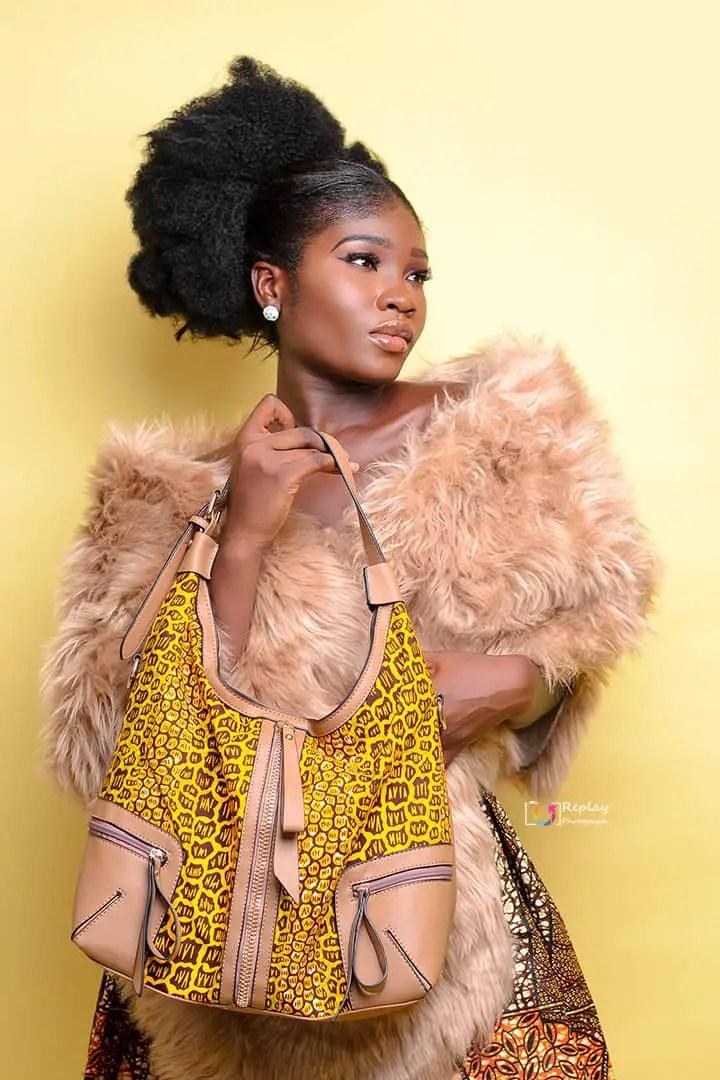"""We Are Visual Aids, We Are Works Of Art"" Says Elsa Aririeri, Nigeria Most Beautiful Ghana Top Model"