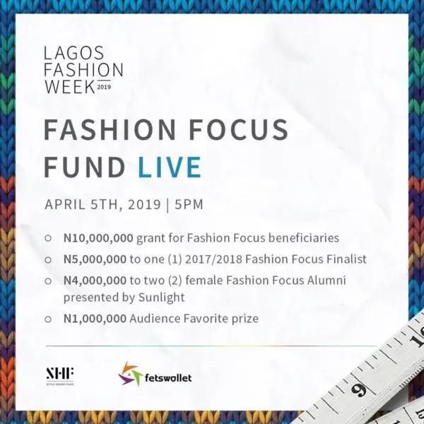 Fashion Focus fund live