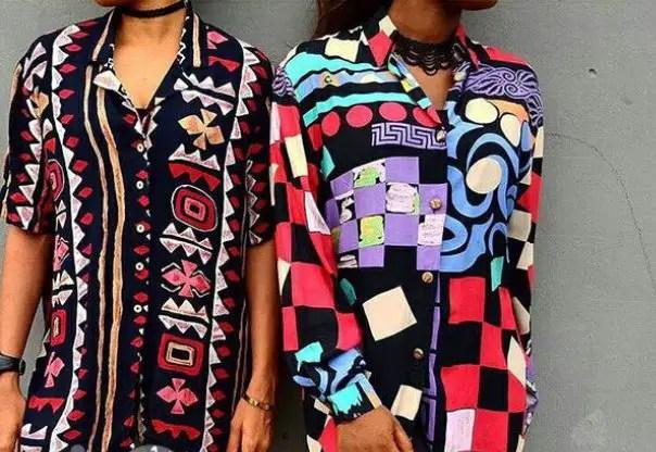 ladies rocking beautiful vintage shirts