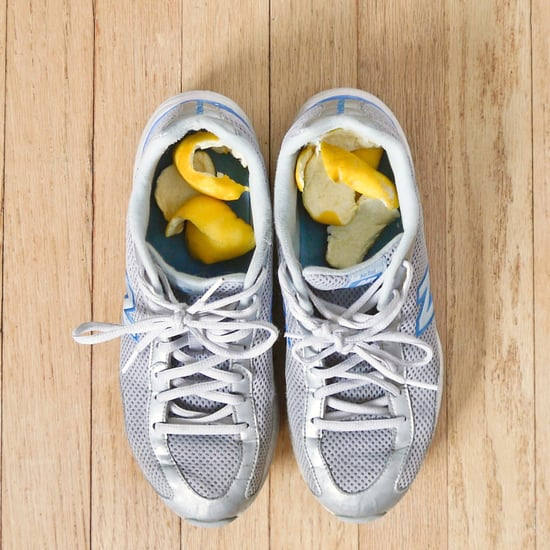 6 Easy Solutions for Stinky Shoes - orange peels