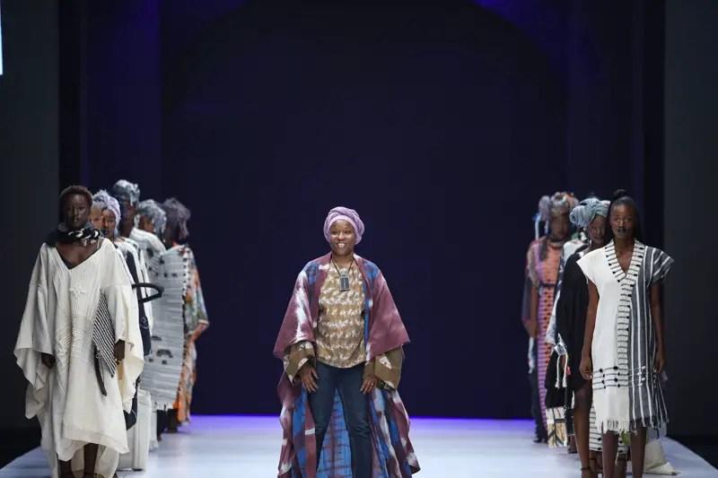 Miete Awa at Lagos Fashion Week Day 2