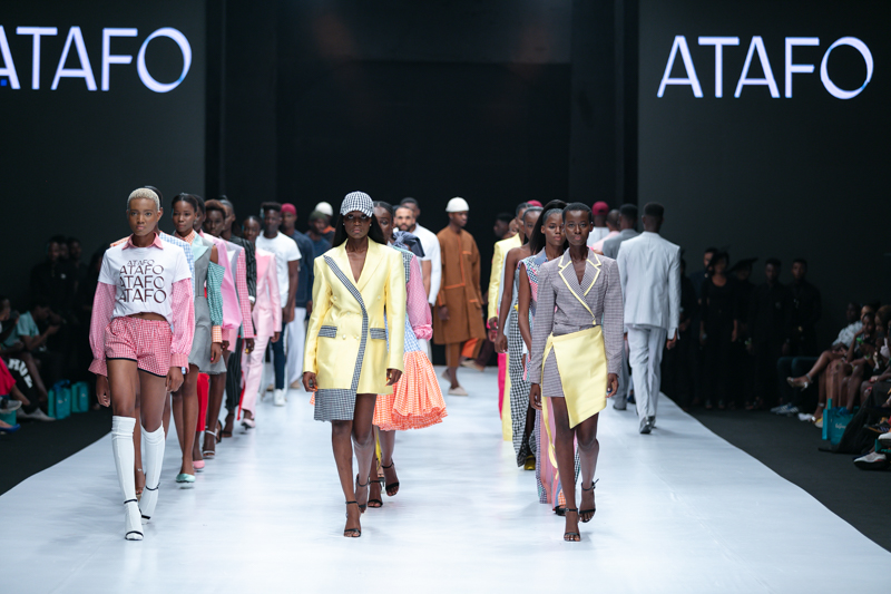 Mai Atafo at Heineken Lagos Fashion Week Day 3