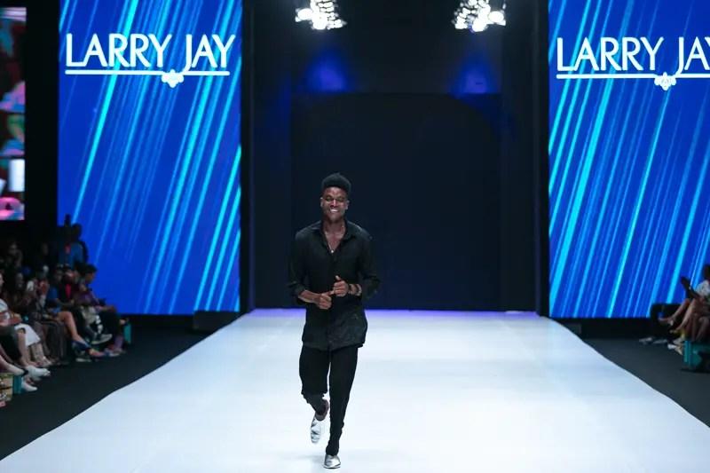 Larry Jay at Heineken Lagos Fashion Week Day 3
