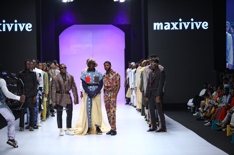 Maxivive at Heineken Lagos Fashion Week Day 3