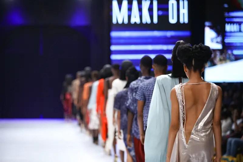 Maki Oh at Heineken Lagos Fashion Week Day 3