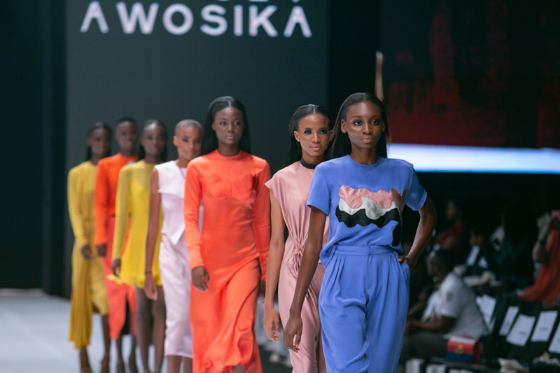 Bridget Awosika at Lagos Fashion Week Day 2