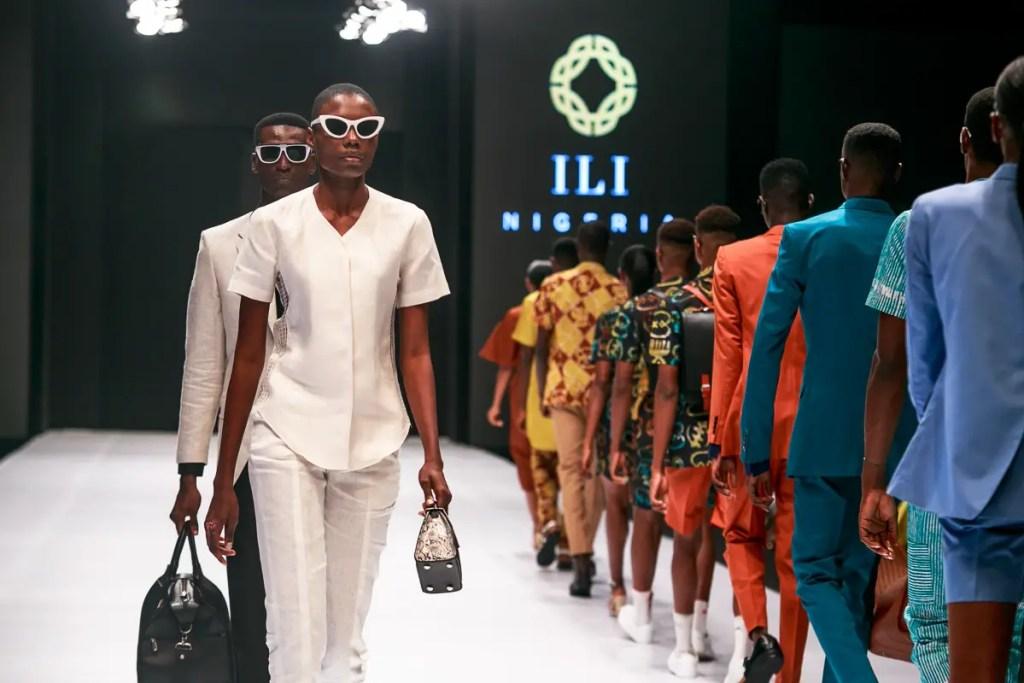 at Heineken Lagos Fashion Week Day 1