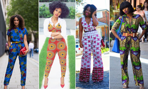 ankara jumpsuits 4 ladies