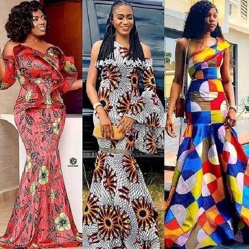 ankara long dresses - Native Wears For Nigerian Women