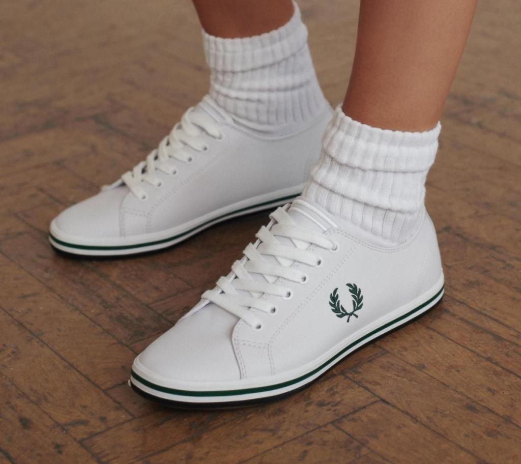 white trainers - women's footwear
