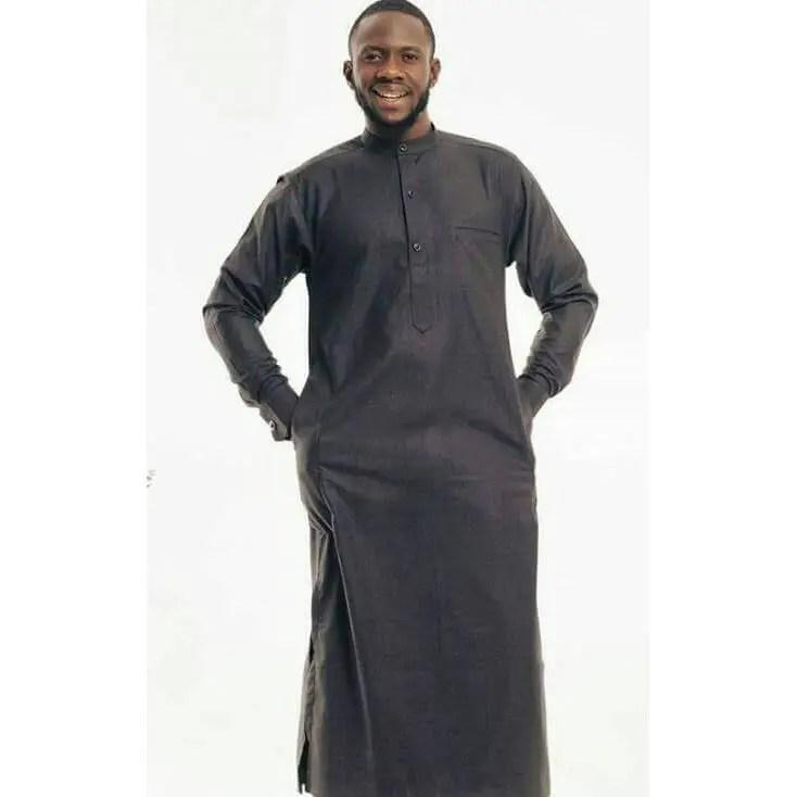 dark jalabiya - Native Wears for Nigerian Men