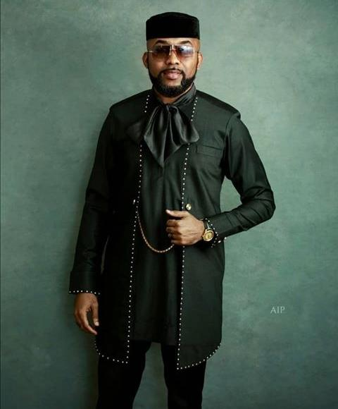 Banky W rocking a black Ugo Monye