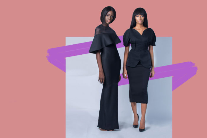 black dresses by Lady Biba