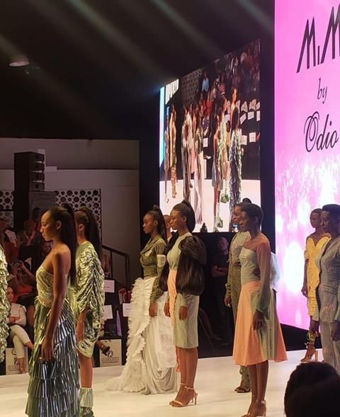 Runway moments styled by Veronica Odeka
