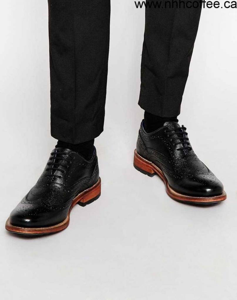 black brogues - Types of Shoes for Men