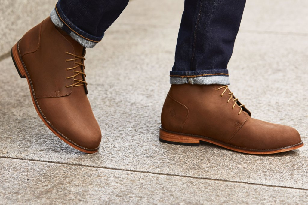 brown chukka boots - Types of Shoes for Men