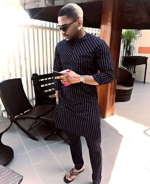 man in black stripe native wear - 5 Simple Style Tips For the Minimalist Man