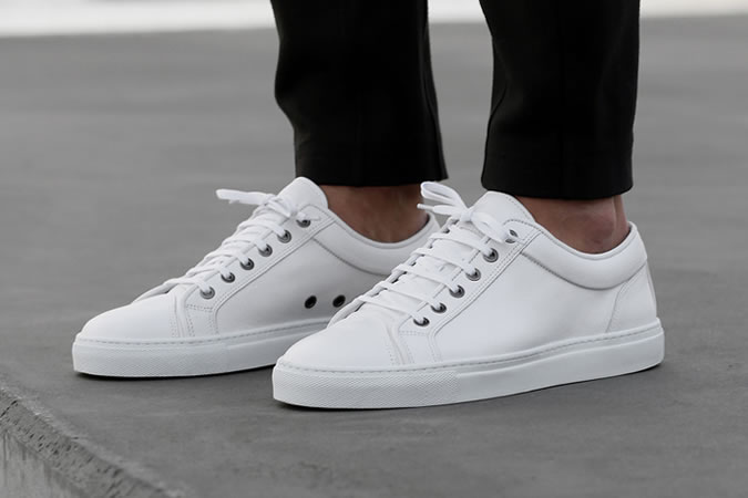 white trainers - Types of Shoes for Men