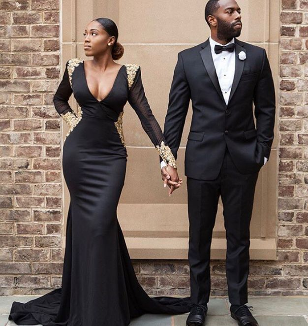 a couple ready for a black tie event - Types of Outfits for Different Occasions