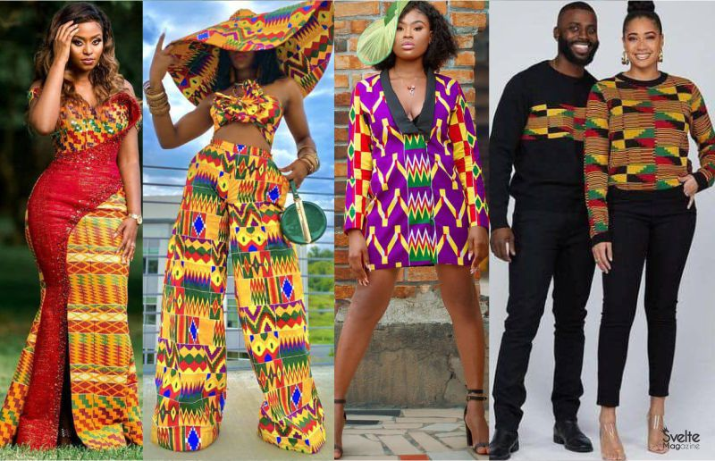 Latest Kente Styles for Men and Women