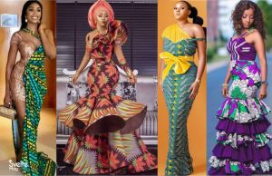 Latest Ankara Long Gowns that Cover Up Yet Flaunt Your Shape