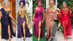 49 Gorgeous Lace Aso Ebi Styles for Ladies Who Love to Slay