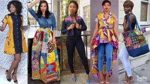 24 Awesome Ankara and Jeans Combination to Enhance Your Style