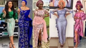 36 Chic Latest Nigerian Lace Styles You Should Wear Soon