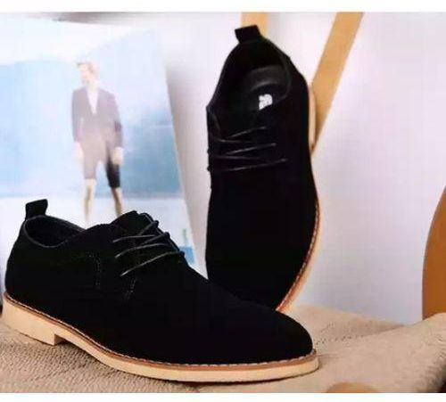 male sued shoes