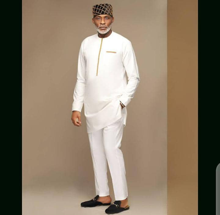 RMD in white senator outfit