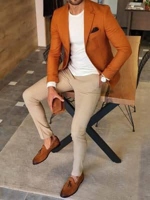 man layering with the right colors