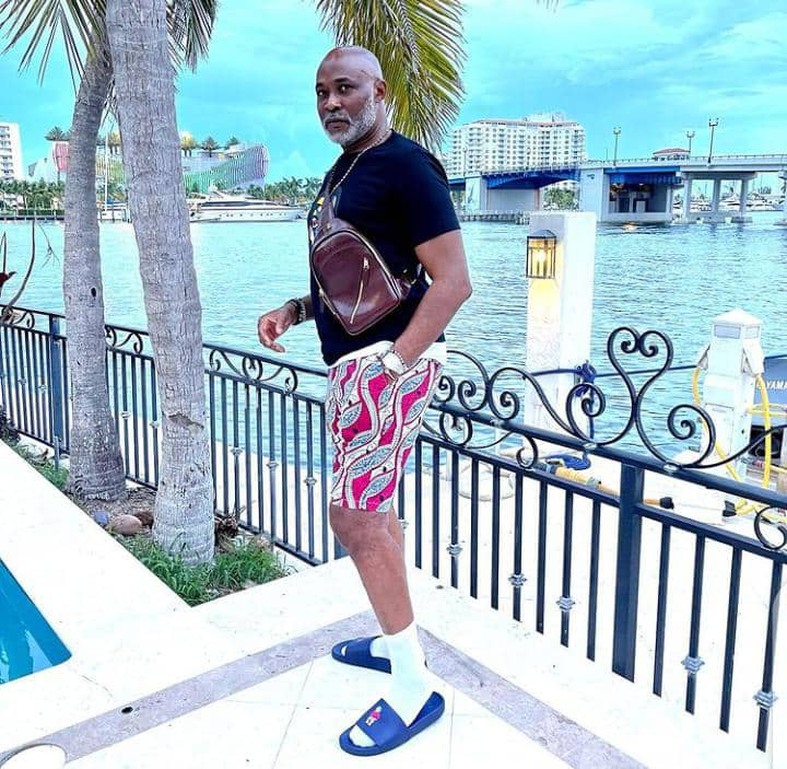RMD stepping out in casual outfit