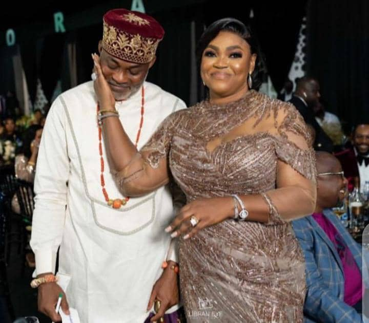 RMD with wife at a traditional event