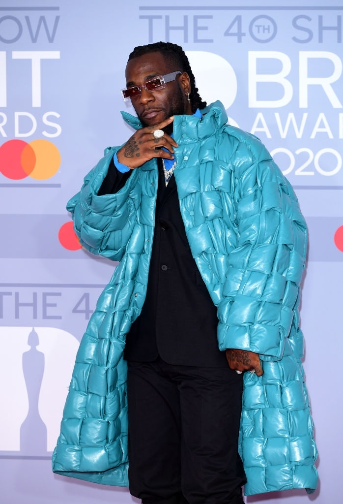 African Giant at the Brits Awards