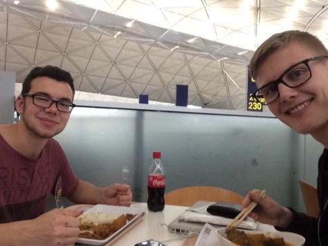 Hong Kong Food im Flughafen Hong Kong