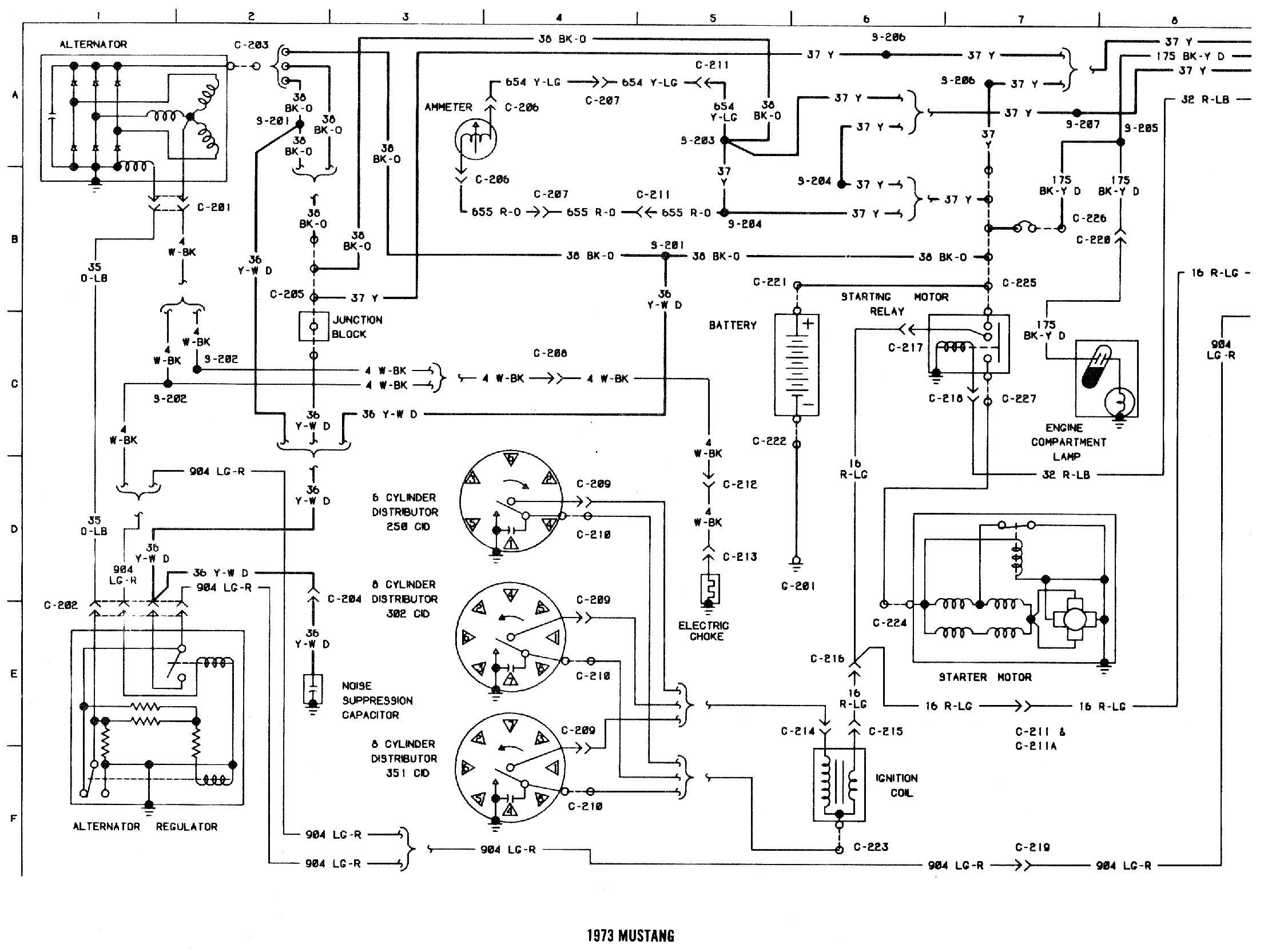 73 Voltage Regulator Wiring
