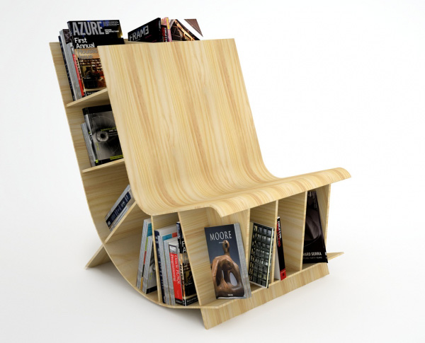 Bookshelf-Bookseat