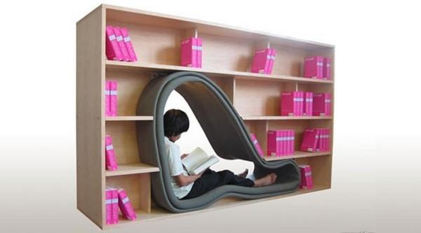 Bookshelf-Cave