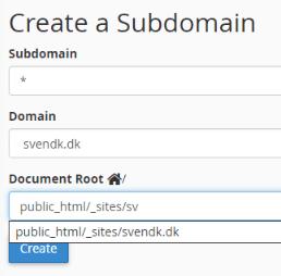 Wildcard Subdomain Redirect_A_CreateSubdomain
