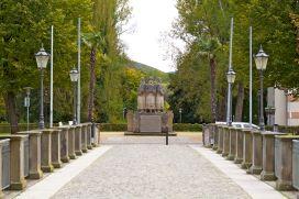 Bad Pyrmont Kriegerdenkmal am Schloss 2012