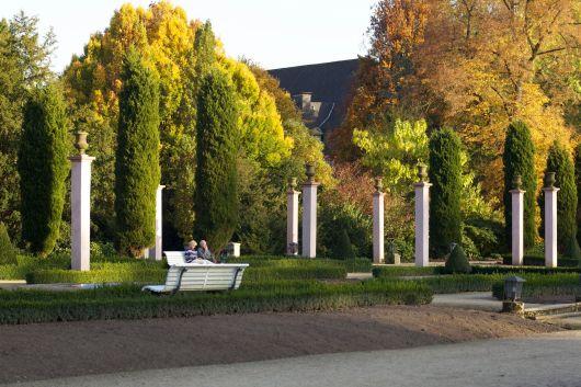 Bad Pyrmont Kurpark im Herbst 2012