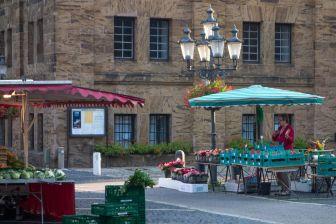 Minden Wochenmarkt Martinikirchhof 2013