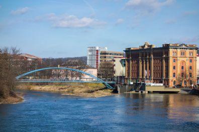 Hameln Stadtbücherei Werderbrücke 2014