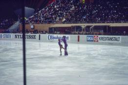 Eiskunstlauf in Davos 1983