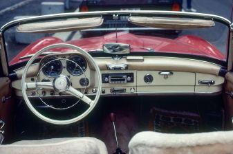 Mercedes 190 SL in Luzern 1983