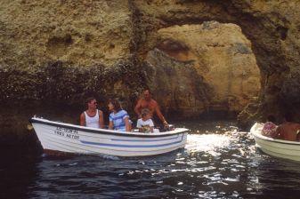 Algarve in Portugal 1987