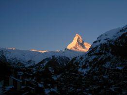 Matterhorn in Zermatt 2001