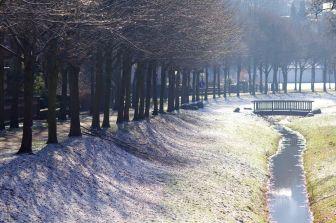 Lügde in Winter 2013