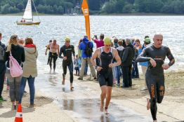 Triathlon am Möhnesee 2017