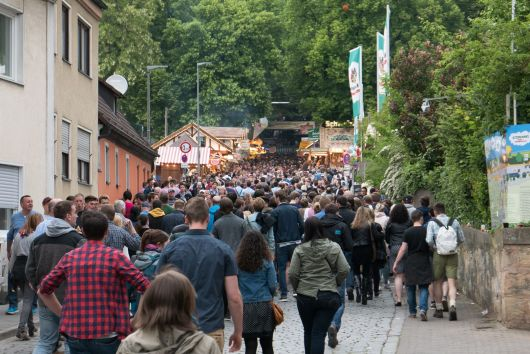 Bergkirchweih Erlangen 2015